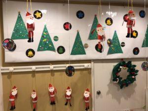 保育所クリスマス飾り